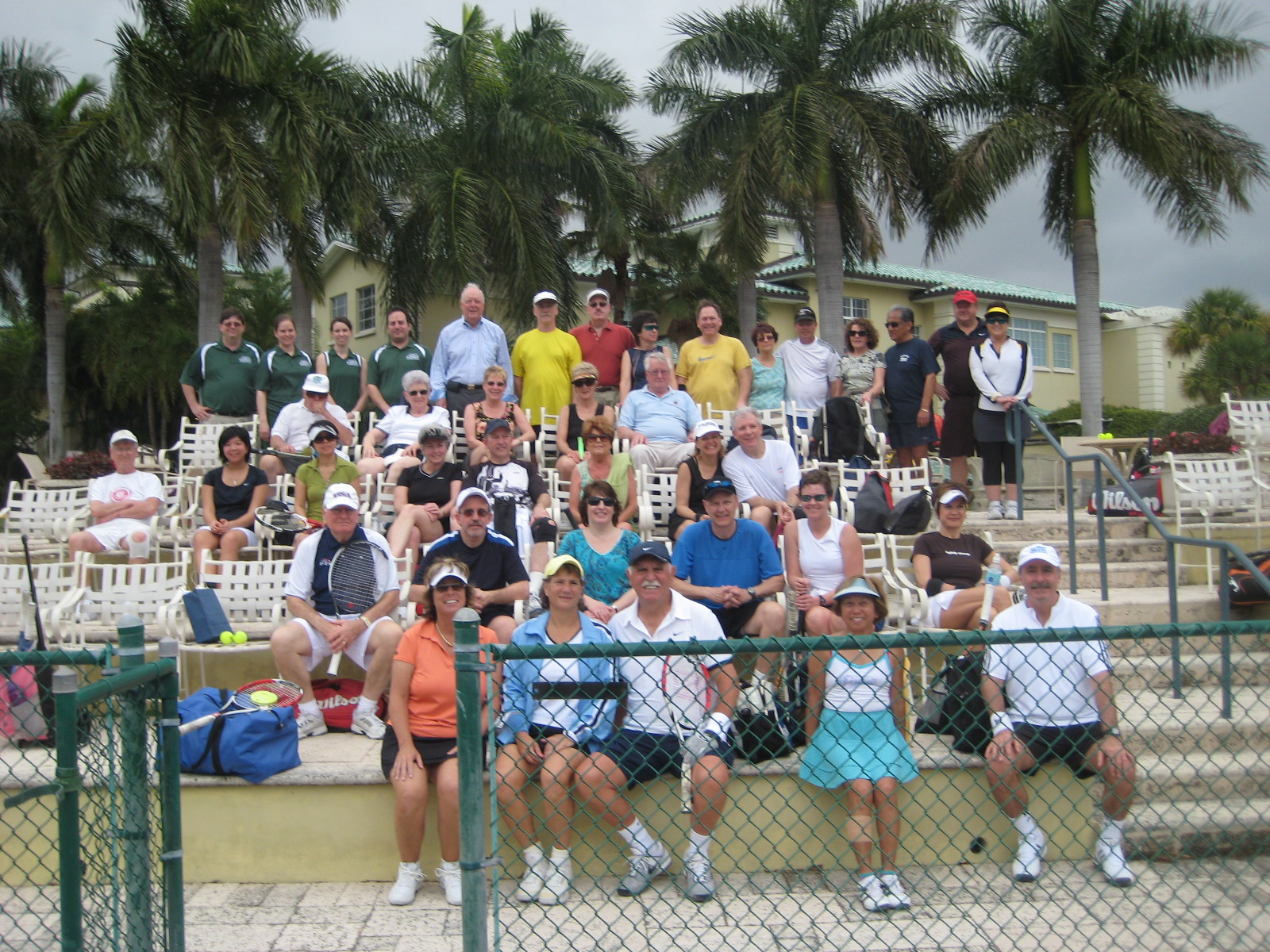 Tennis Cruise participants