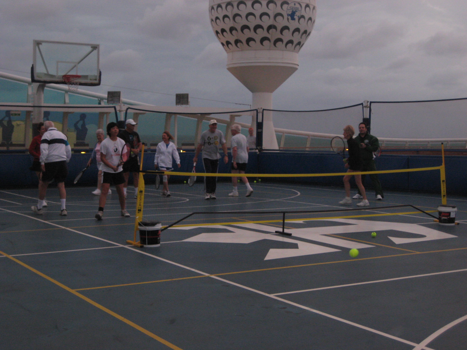 drills on the ship
