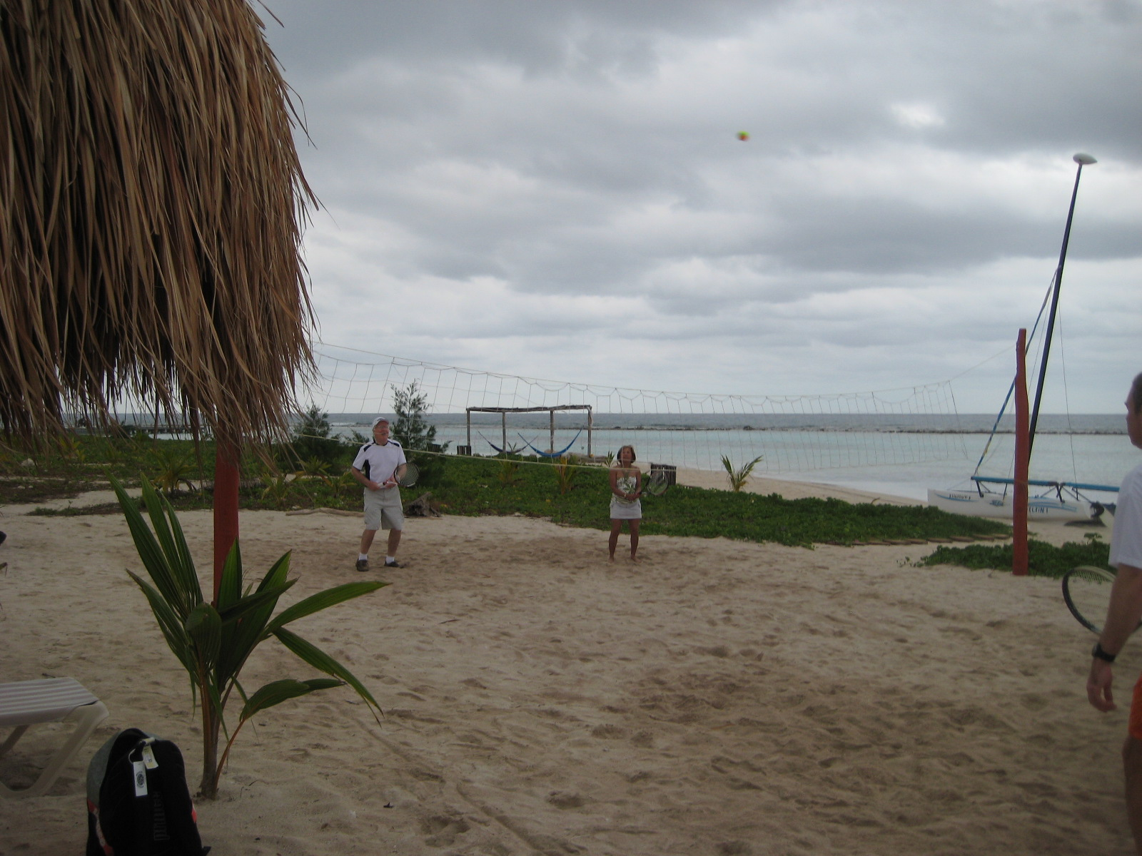 Beach Tennis in Costa Maya